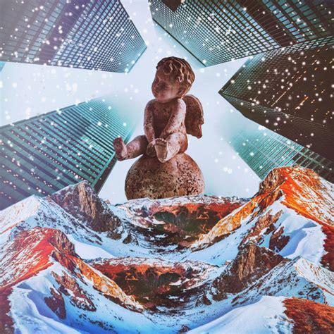 festive christmas collage art celebrating  holiday