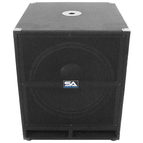 Speaker Toto Sound 18 Inch seismic audio tremor 18 pw powered pa 18 inch subwoofer speaker cabinet musical