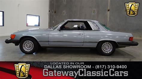 Mercedes Dfw by 1980 Mercedes 450 Slc 452 Dfw Gateway Classic Cars