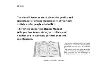 car repair manual download 2004 toyota mr2 electronic throttle control download 2004 toyota mr2 spyder repair manual information pdf 2 pages