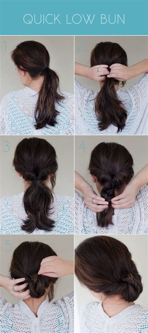 hair peice for making buns to grow out hair super simple five step tutorial for turning a topsy turvy
