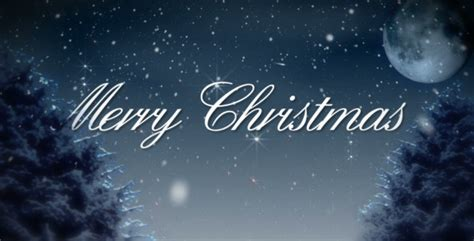 merry christmas snowy winter night by amarufilm videohive