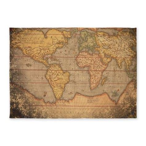Map Rug Old World Maps And Old World On Pinterest World Map Rug