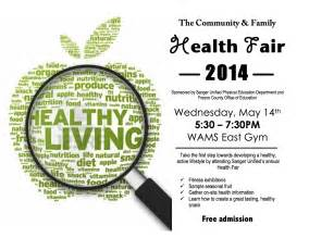 community amp family health fair 2014 the sanger scene
