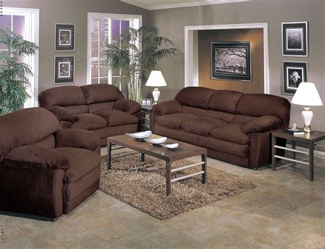 Chocolate Living Room Furniture Chocolate Living Room Decor Living Room