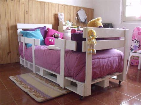 cama infantil de palets bricolaje