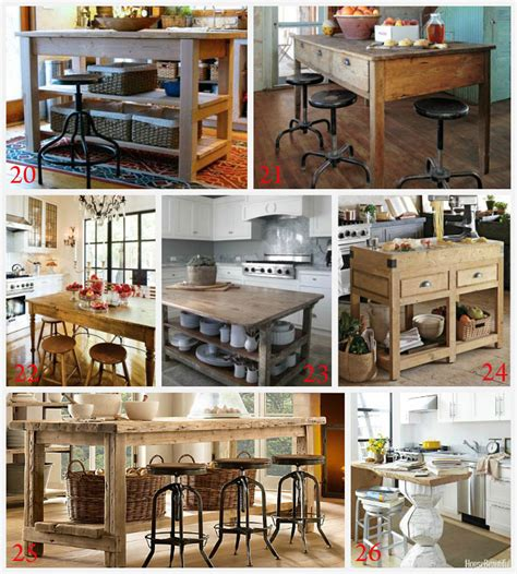 Kitchen Island Diy Ideas Kitchen Island Ideas Decorating And Diy Projects
