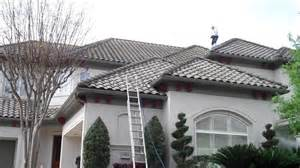 Exterior Brown Paint Colors - barrel tile roof cleaning in the royal oaks country club subdivision in houston tx 77082 youtube