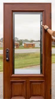 Entry Door With Blinds Between Glass Blinds Between Glass