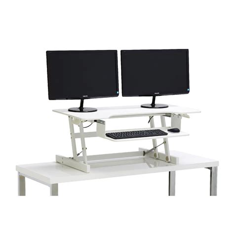 tresanti sit to stand tech desk power height adjustable wynston sit stand desk standing desk height adjustable