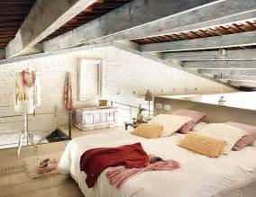 Bedroom Lofts Cozy Bedroom In Unique Loft Interior Design
