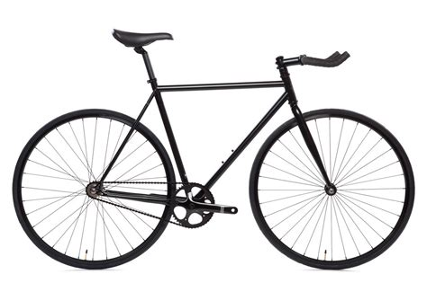 Matte Black 6 Bicycle Fixie Fixed Gear Bikes State