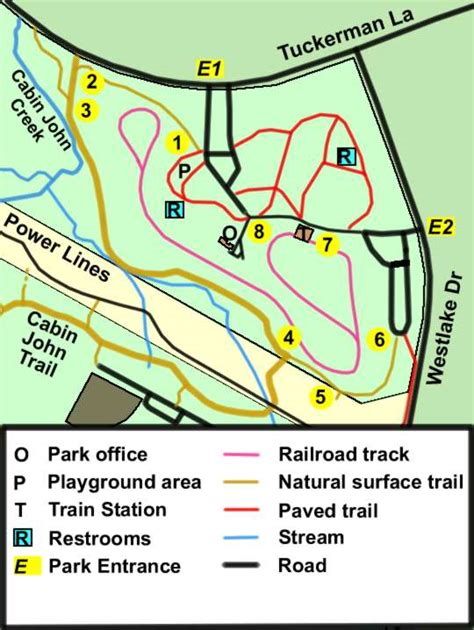 Cabin Park Map by Cabin Regional Park Walk 1 Map And Directions
