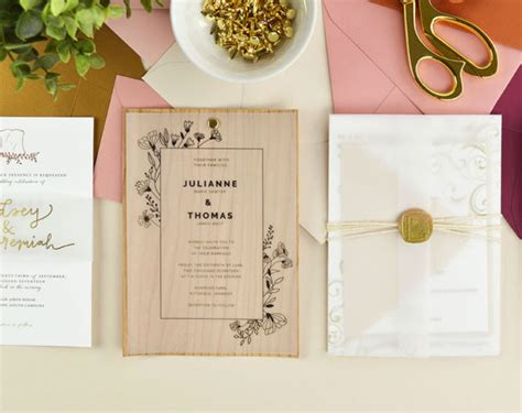 wedding invitation design tutorial cards pockets design idea diy wedding invitation