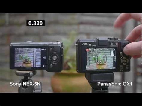 panasonic lumix dmc gx1 review vs. sony nex 5n