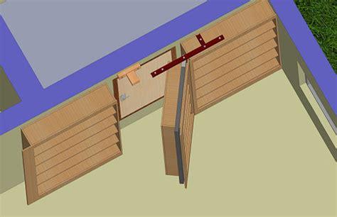 woodwork making  hidden door  plans