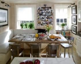 Small Kitchen Dining Ideas Open Kitchen Space With Dining Room Wooden Table Metal Chairs And Cozy Corner L Shaped Sofa