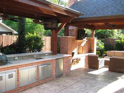 outdoor kitchens wood crafters
