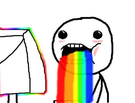Rainbow Puke Meme - super excited meme face image memes at relatably com