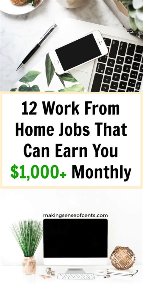 Jobs That You Can Work From Home Online - how to earn money from home 12 work from home jobs