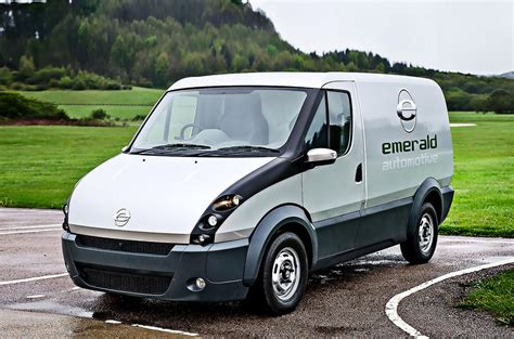 Eco Light In Car by Extended Range Electric Van Will Be Made In The Uk Autocar