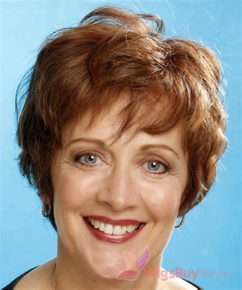 Short Hair Wigs For Older Women | wigs for older women with thin hair short hairstyle 2013