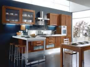 modern kitchen color ideas blue kitchen cherry cabinets quicua com