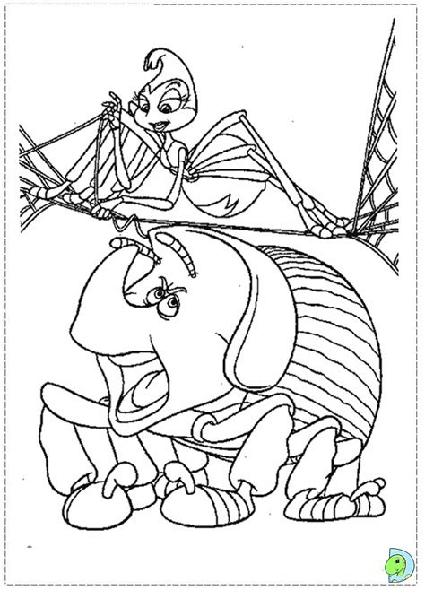a bug s life coloring page dinokids org