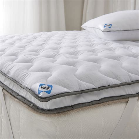 Mattress Toppers by Sealy Select Balance Dual Layer King Mattress Topper Achica