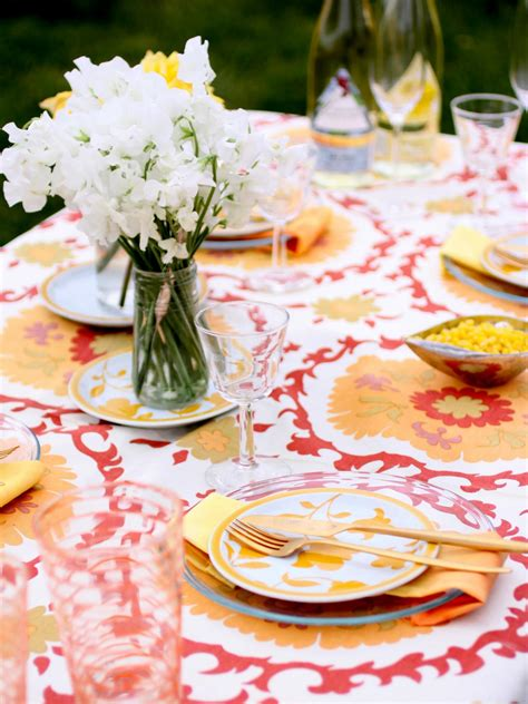 Summer Table Settings | 3 stylish summer table setting ideas entertaining ideas