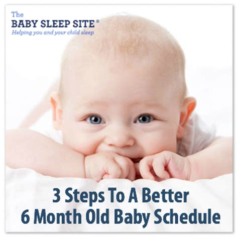 3 steps to a better 6 month old baby schedule | the baby