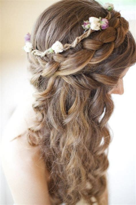 Wedding Hairstyles To The Side With Flower by Braided Wedding Hairstyles With Beautiful Flowers