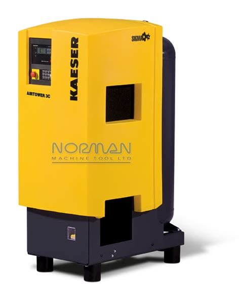 kaeser 3 hp 12 cfm airtower rotary air compressor with built in dryer 3c plasma cutter