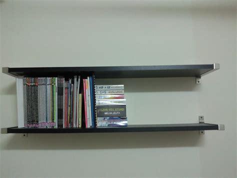 Rak Buku Gantung Diy to 5s ikea diy study table or work table dan rak buku