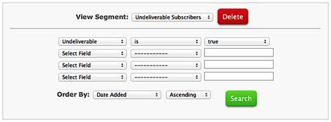 yahoo email undeliverable delete undeliverable email addresses from aweber list