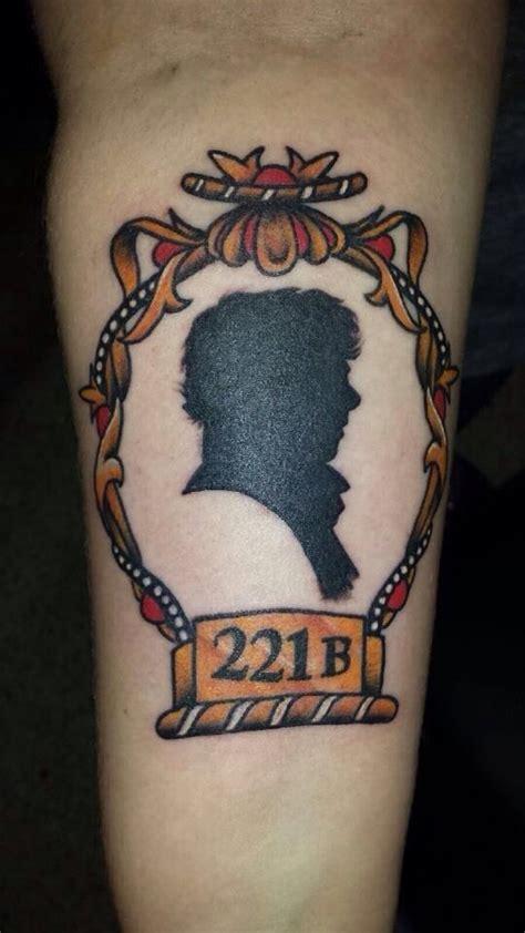 sherlock tattoo got a sherlock today sherlock