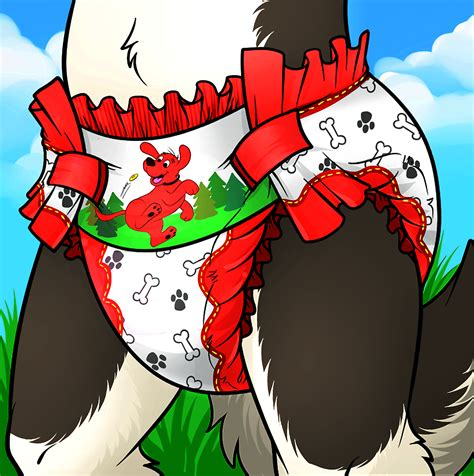 furry in diapers danny s new diaper by nh63879 on deviantart