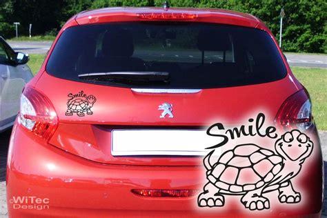 Lustige Vornamen Autoaufkleber by Turtle Schildkr 246 Te Smile Autoaufkleber Auto Aufkleber Sticker