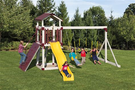 vinyl swing sets pa products weaver s stove and patio