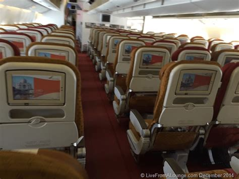 air india business class seats images flight review ai 687 mumbai delhi air india business