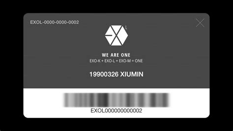 exo id card design exo l google play の android アプリ