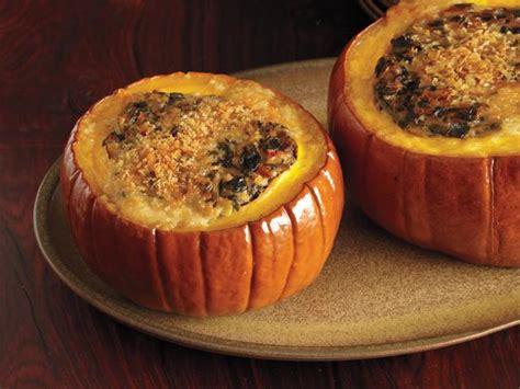 spicy pumpkin and collards recipe food network kitchen