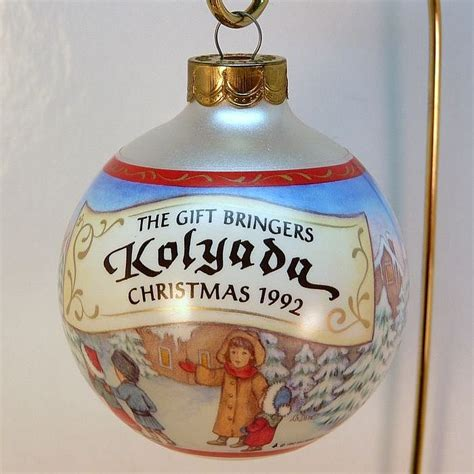 hallmark christmas ornament kolyada the gift bringers 4th