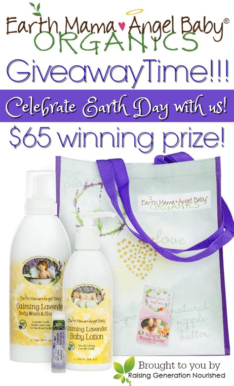 Earth Day Giveaways - earth mama angel baby earth day giveaway plus an earth day giveaway blog hop