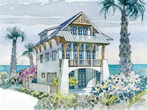 waterfront bungalow house plans waterfront villa coastal living southern living house plans