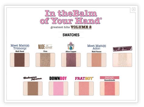In The Balm Of Your the balm paletka in the balm of your pinkpanda cz