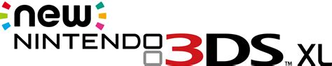 logo xl png file new nintendo 3ds xl logo png wikimedia commons