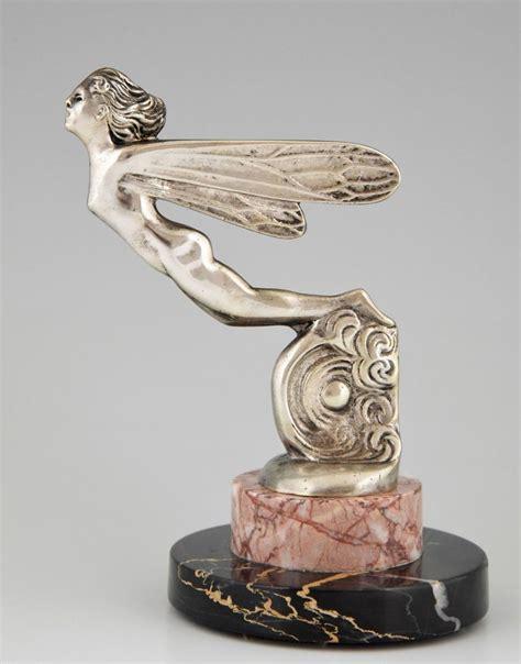 deco car ornaments deco car mascot ornament silvered bronze