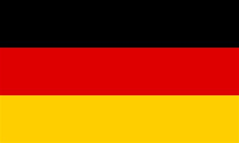 german flag colors outline of germany