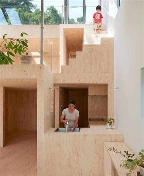 designboom japan house look ma no handrails a house designed for danger